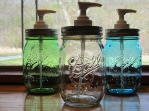 Jar Soap Dispensers