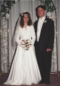Wedding pic 1994