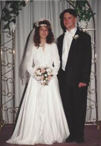 Wedding pic 1994
